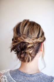 Hairstyles Braided Bun