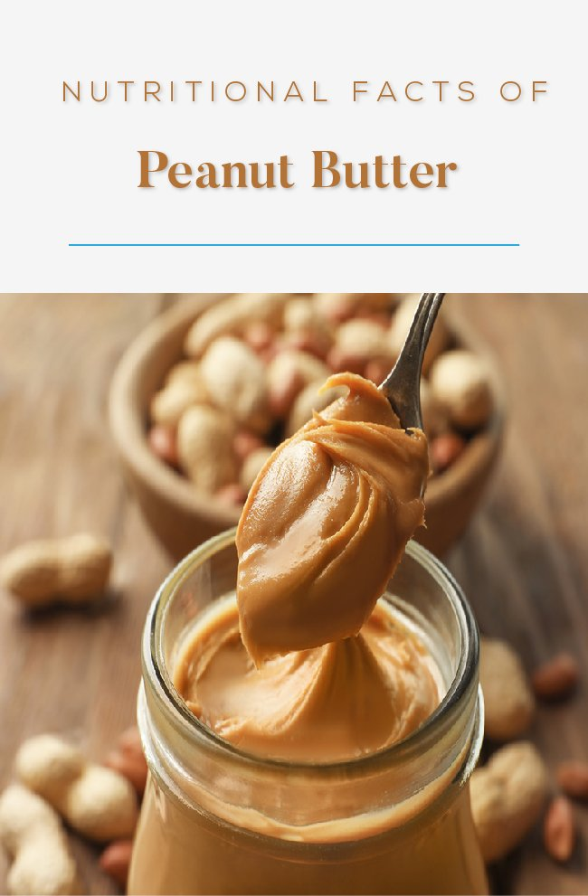 Nutritional facts of peanut butter