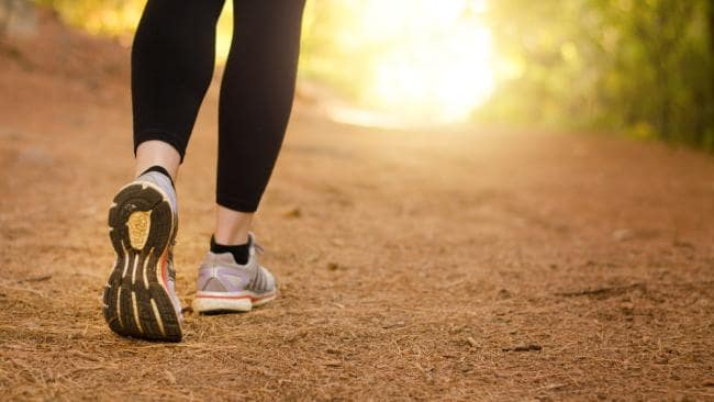 Walking can do the trick for fitness habit.