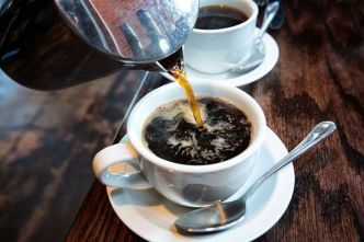 Drinking coffee in moderation should not exceed above four cups daily