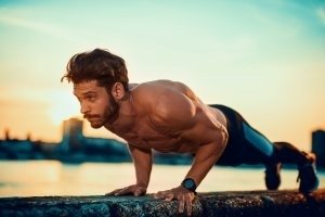 Pushups every day can transform your body into a broader and stronger build