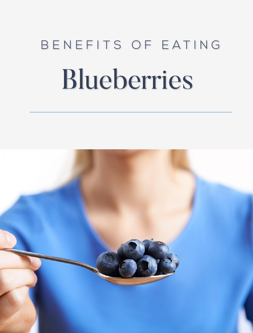 Eating Blueberries benefit our Health more than Being the Dessert