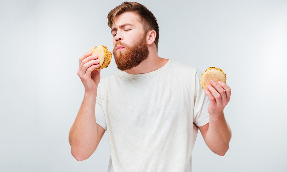 https://www.shutterstock.com/image-photo/man-refuses-eat-junk-food-healthy-464990414