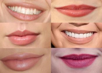 Set the perfect shape of your lips