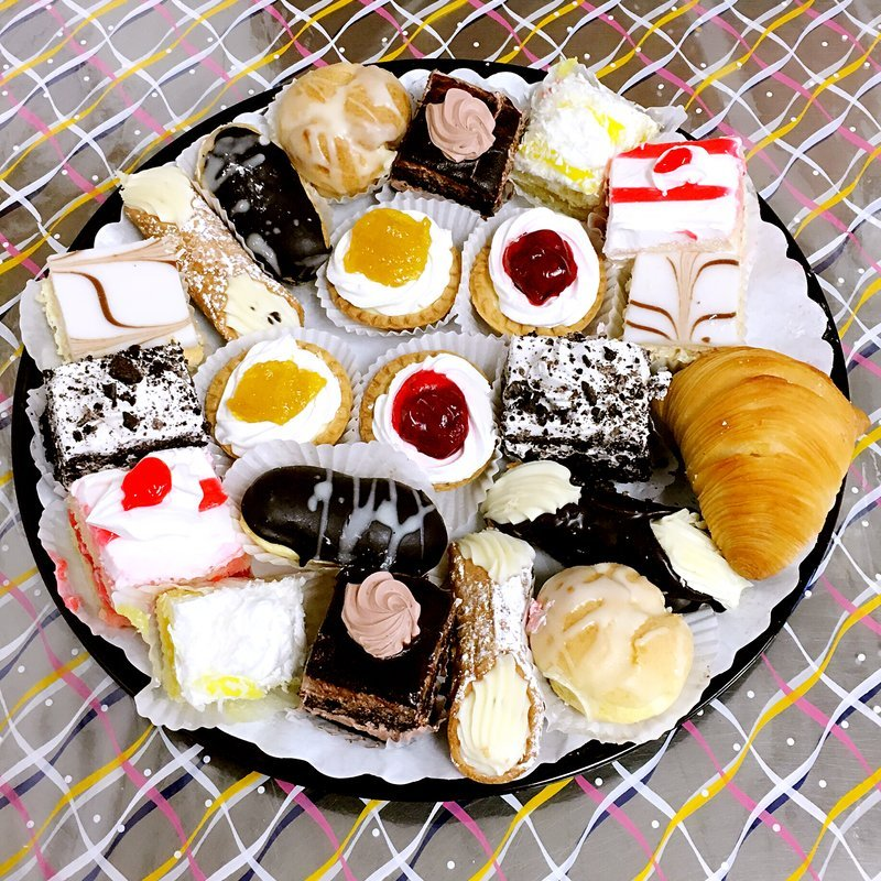 Who would say no to pastries and cakes