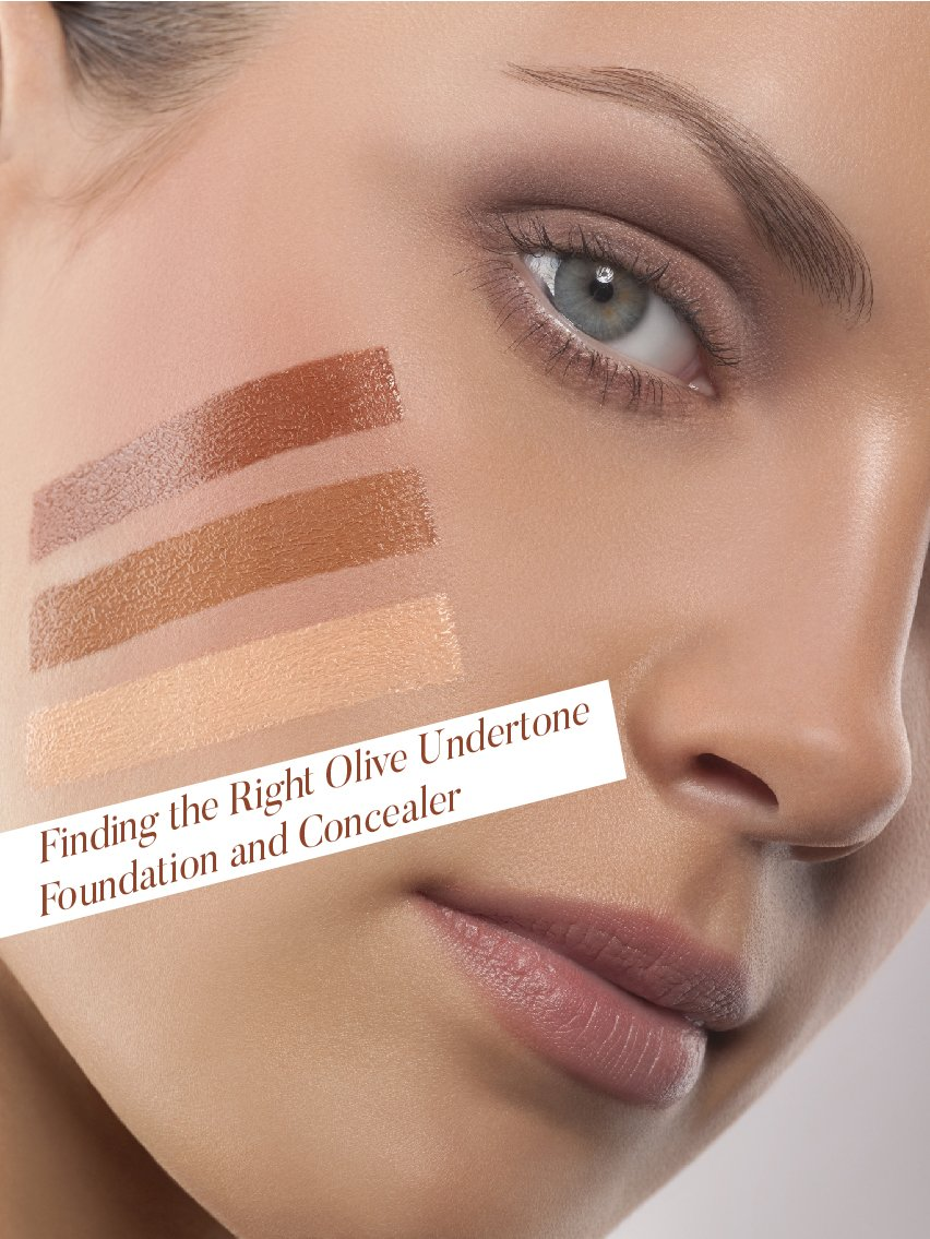 Finding the Right Olive Undertone Foundation and Concealer