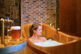 Beer Bath, Your Unique and Out of this World Beauty Spa