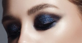 eyeshadows with shimmery effect for Brown Eyes Makeup
