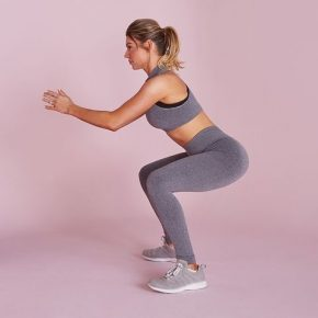 How to do squat can fairly give you a result to have strength on your whole body muscles,