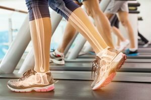 Walking regularly strengthened bones and joints