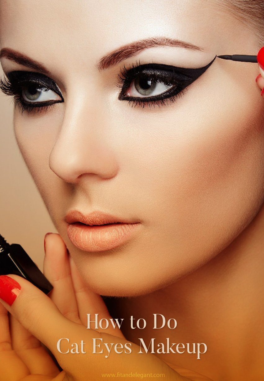 How to Do Cat Eyes Makeup