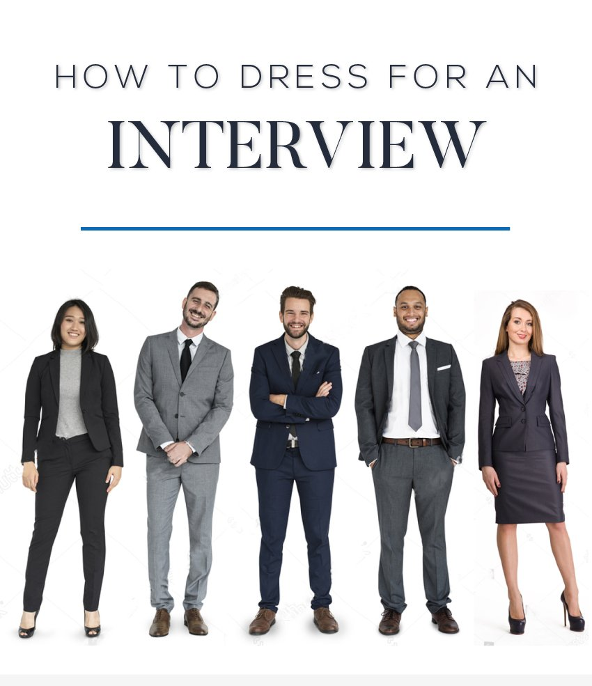 how to dress for an interview?