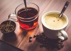 tea and coffee provides more health benefits.