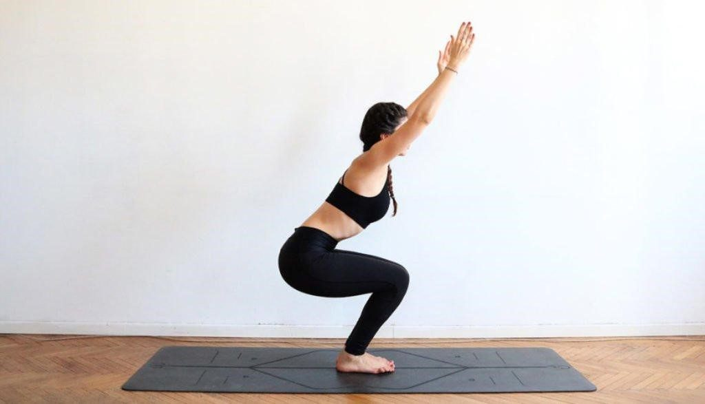 Yoga Routine 1: Chair Pose