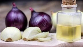 Some onion Juice to boost collagen in your scalp