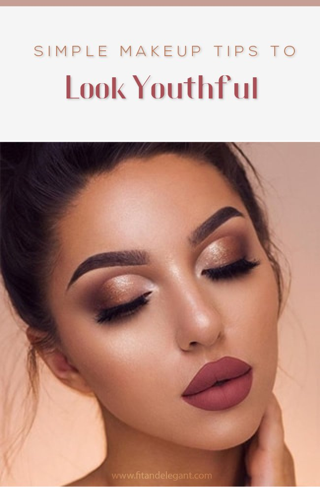 Simple Makeup Tips to Look Youthful