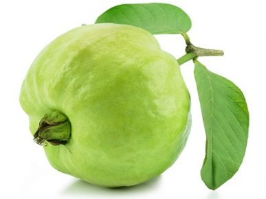 With a guava a day, it helps your body to be perfectly healthy,