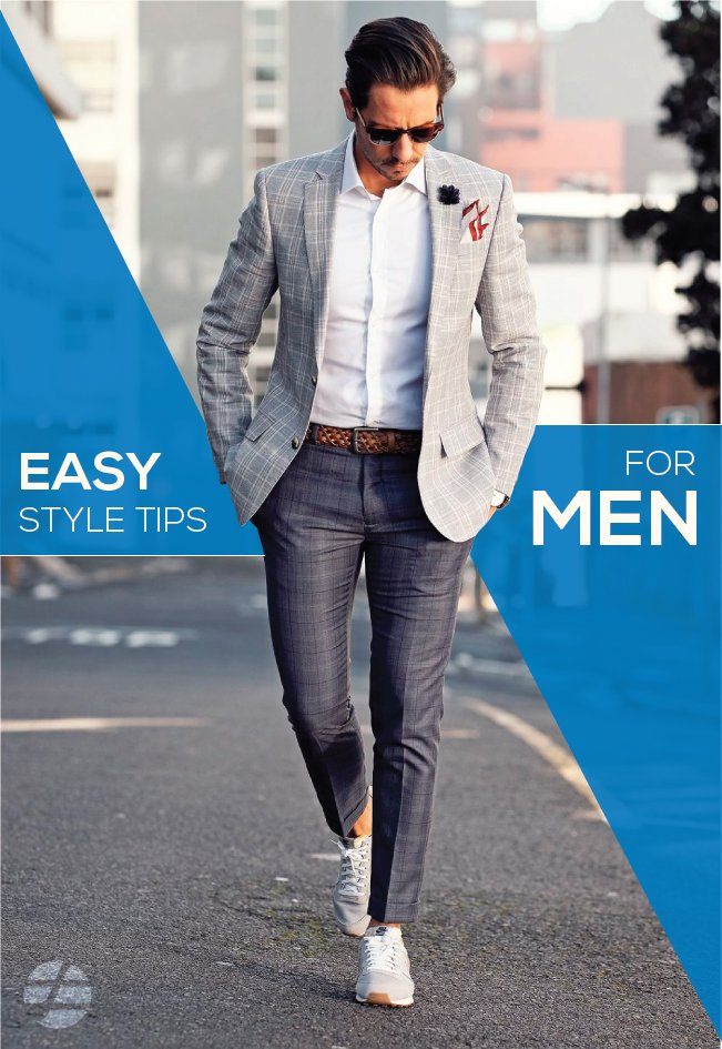 Easy style tips for men