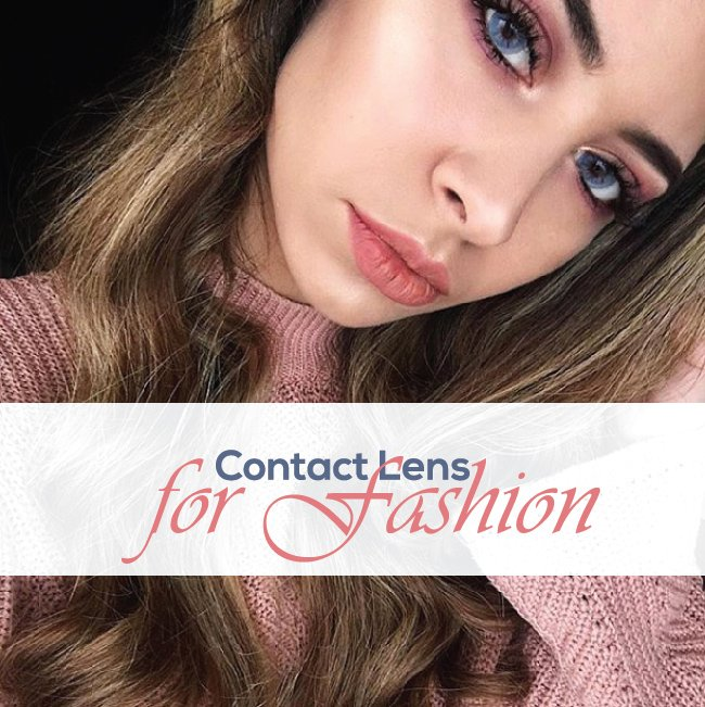 Contact Lens for Fashion