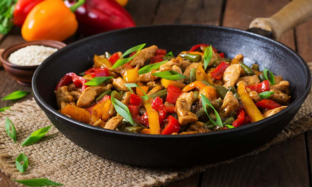 Chicken-Stir-Fry-Recipes-Spicy-Honey-garlic